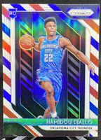 Hamidou Diallo 2018-19 Panini Prizm Red White Blue Prizm #9 RC Rookie Thunder