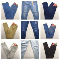 Levi's Womens 711 Skinny Stretch Denim Jeans Pants All Sizes / Colors New Nwt