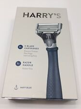 HARRY'S RAZOR - 2X 5-Blade Cartridges (NAVY BLUE)