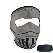 Grey Knight Armor Look Neoprene Full Face Mask Extender XL Head Cosplay Costume