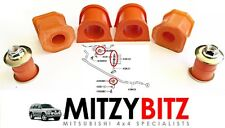 FRONT ANTI ROLL BAR & CENTRE LINK BUSHES for MITSUBISHI SHOGUN SPORT K94 K96