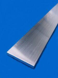 Plat aluminium 20x5 longueur 1 M