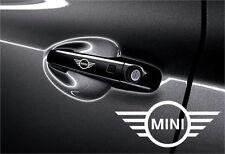 5x Aufkleber Mini Cooper für Türgriff und Außenspiegelsn Vinylselbstklebe