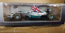 1.43 L. Hamilton Mercedes F1 W05 #44 World Champion Abu Dhabi GP F1 2014 Spark