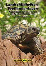 Landschildkröten-Freilandanlagen von Ricarda Schramm (Buch) NEU