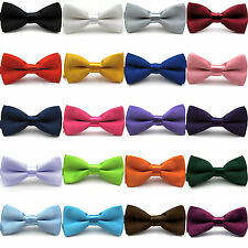 Homme Mariage Party Noeud Papillon Bowtie BusinessTuxedo Cravate Réglable