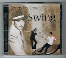 SONGS FOR LOVERS OF SWING - 2 CD SET - 30 TITRES - NEUF NEW NEU