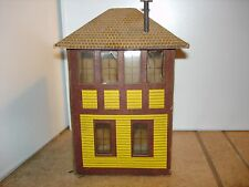 Lionelville old railroad tower O scale kit built