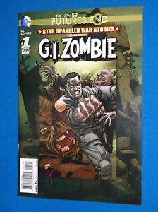 STAR SPANGLED WAR STORIES # 1 - NM 9.2 - FUTURES END - G.I. ZOMBIE - 2014 1-SHOT