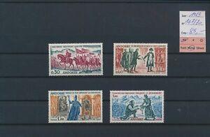 LO69096 Andorra 1963 historical figures fine lot MNH cv 85 EUR