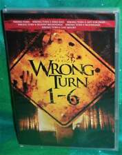 New Wrong Turn 1-6 Movie Collection 1 2 3 4 5 6 Horror Slasher Dvd Set 2017