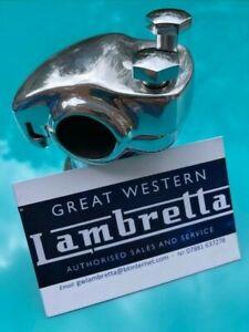 Innocenti Lambretta Model D & Ld Chrome Handle Bar Clamp Bolts (Pair) Casa