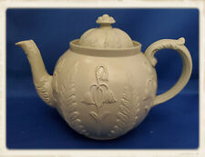 Antique English Salt Glazed Teapot 1800's
