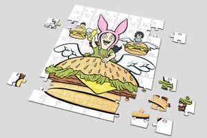 Heart 201/500/1000 Pieces Jigsaw Puzzles Bob's Burger Order Up Neverending Louis