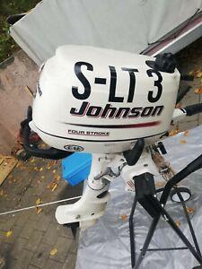 Außen boot motor Johnson S-LT 3   5 PS