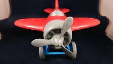 Green Toys Airplane - BPA Free, Phthalates Free Blue and Red Plane