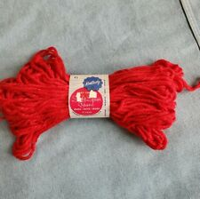 Kentucky Soft Spun 663 Red Yarn Style 113 skein color fast anti-shrink Vintage