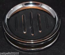 Cannon Halston Chrome Round Soap Dish