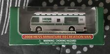 2008 Hess Miniature Hess Recreation Van New In Box Fast Free Shipping