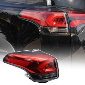 Left Outer Rear LED Tail Light Brake Lamp fit for Toyota RAV4 MK4 2016 to 2019