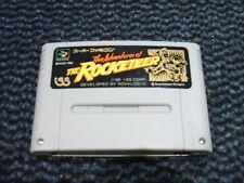 THE ROCKETEER NINTENDO SUPER FAMICOM CARTRIDGE TESTED WORKING NTSC-J JAP SNES