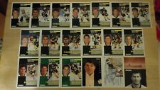1991-92 Pinnacle French BOSTON BRUINS Team Set - 19 Hockey Cards - Bourque Neely