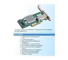 Supermicro AOC-UIBQ-M1 QDR UIO infiniband card, 1x QSFP-port, 40Gb, PCI-e
