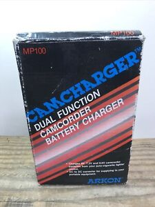 Vintage Camcharger Dual Function Camcorder Battery Charger Mp100 *Never Used*