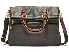 Fossil SHB1521001 Explorer FLD Tote/xbody Leather in Black
