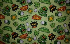 ANGRY BIRDS APP IRISH ST PATRICKS SHAMROCK POT OF GOLD LINED VALANCE 42X12