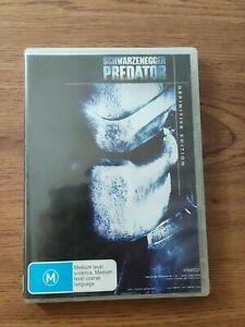 Predator - Definitive Edition (DVD, 1987, 2-Disc) Arnold Schwarzenegger Region 4