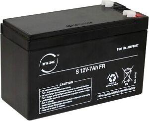 NX Batterie plomb AGM 12V-7Ah 60 LHB ref AMP9037