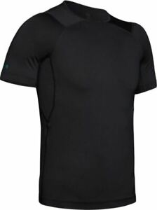 UNDER ARMOUR MENS UA RUSH COMPRESSION SHORT SLEEVE SHIRT MINERAL INFUSED - XL