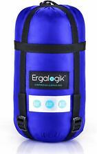 Ergalogik Compression Sleeping Bag Blue