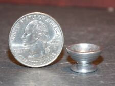 Dollhouse Miniature Metal Silver Bowl 1:12 One Inch Scale Z10 Dollys Gallery