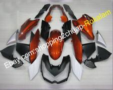 For Kawasaki Z1000 Fairing 2010 2011 2012 2013 Z 1000 Orange Gold ABS Body Kit