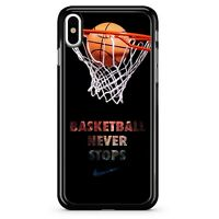 Basketball Never Stop phone case for iPhone Samsung case
