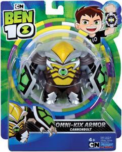Ben 10 Cannonbolt Omni Kix CN Playmates Cartoon TV Toy 5-Inch Action Figure NEW