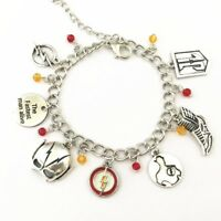 The Flash Inspired CHARM BRACELET Justice League, DC