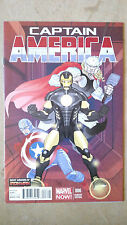 CAPTAIN AMERICA #6 FIRST PRINTING PASQUAL FERRY VARIANT MARVEL COMICS (2013)