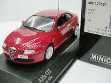 Wow extrêmement rare alfa Romeo 937 GT 3.2 V6 24 V 2003 rouge 1:43 Minichamps - 164/GTV