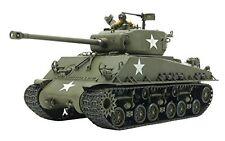 Tamiya US Medium Tank M4a3e8 Sherman Easy Eight Euro 1/35 Model Kit 35346