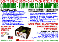 CUMMINS / FUMMINS TACH ADAPTER, 58, 35, 12 RATIOS FOR MOST CUMMINS CONVERSIONS