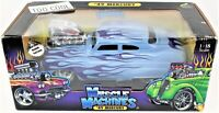Muscle Machines '49 Coupe Die Cast Car Blue & Purple 1/18 scale by Funline 2003