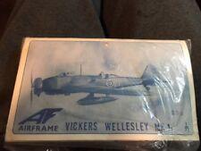 VINTAGE AIRFRAME 1/72 VICKERS WELLESLEY Mk.1-- RARE VACFORM !!