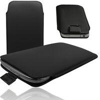 MX Slim Cover Case Schutz Hülle Etui Pull Tab Tasche für BlackBerry Leap