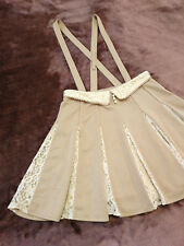 LIZ LISA Skirt Japan-M Suspender Lace pleated Hime&Lolita Kawaii Gyaru Fashion