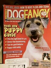 Parson Russell Terrier Border Collie Olde English April 2005 Dog Fancy Magazine