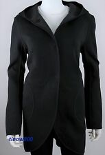 Lululemon City Bound Wrap Coat Siz M Spacer Jacket Black Heather Blk Reverse NWT