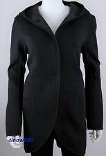 Lululemon City Bound Wrap Coat M Spacer Jacket Black Heather Blk Reverse - SALE!